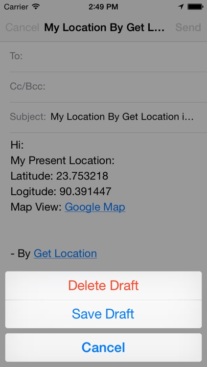 Get Location screenshot-3