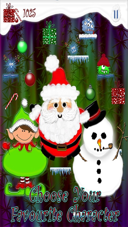 Santa Tree Jump - A Free Christmas Kids Jumping Game