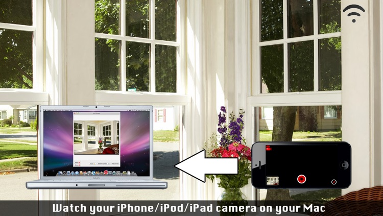 Air Camera - Transform your iPhone into a remote wifi camera screenshot-3