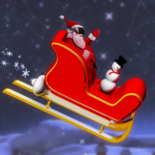 Crazy Santa Rider - Jump in Santa's hot new ride and race to the North Pole this Christmas. icon