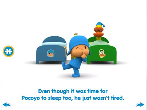 Pocoyo Bedtime screenshot