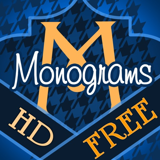 Magical Monograms HD FREE - Customized Designer Wallpaper, Backgrounds and Icon Skins