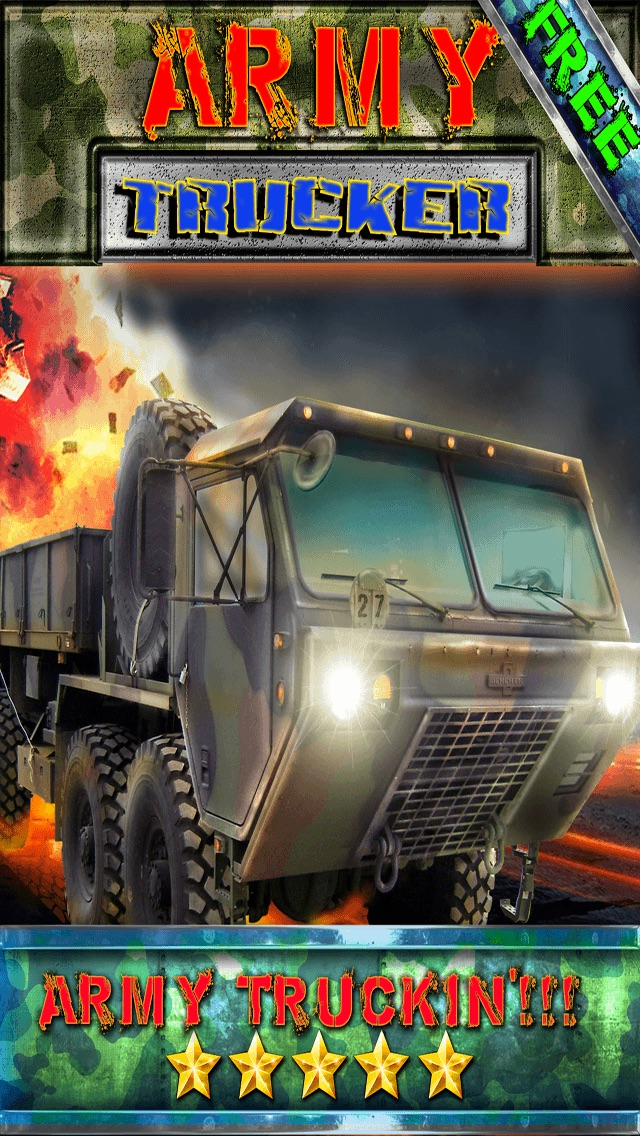 Army Trucker Racing Simulator - Realistic Military Truck