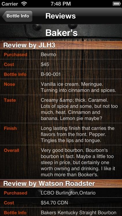 Bourbon Enthusiast screenshot-3