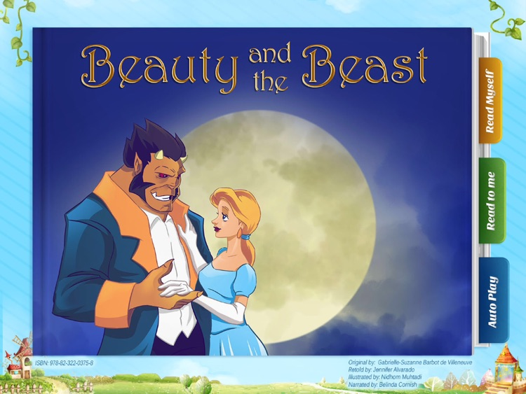 Beauty and the Beast - Have fun with Pickatale while learning how to read!
