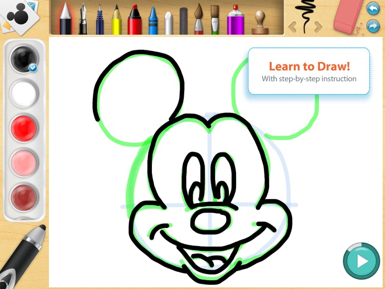 Disney Creativity Studio screenshot-0