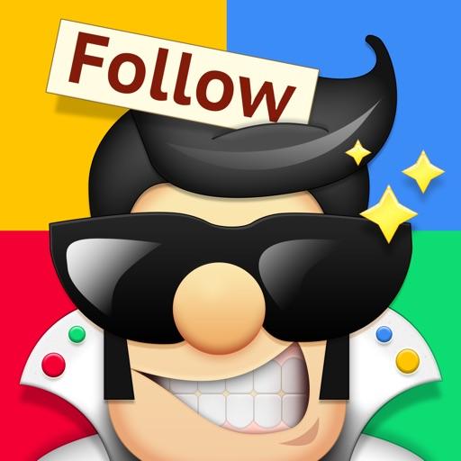 Followers Powers for Instagram - free follow and unfollow tracker app app logo