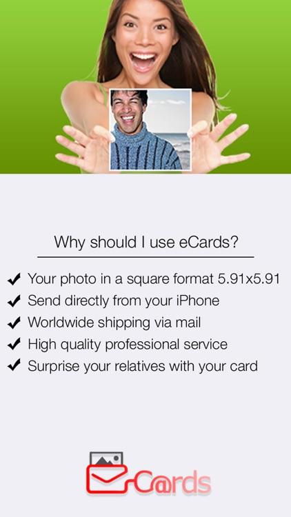 eCards: postcard, greetings, birthday, invitation card screenshot-4