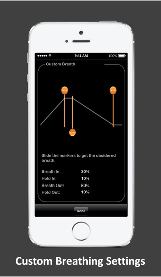 HeartRate+ Coherence Screenshot
