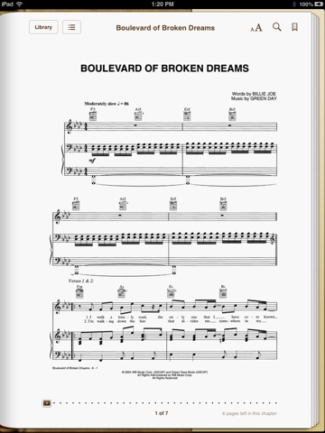 Boulevard of Broken Dreams by Green Day on iBooks