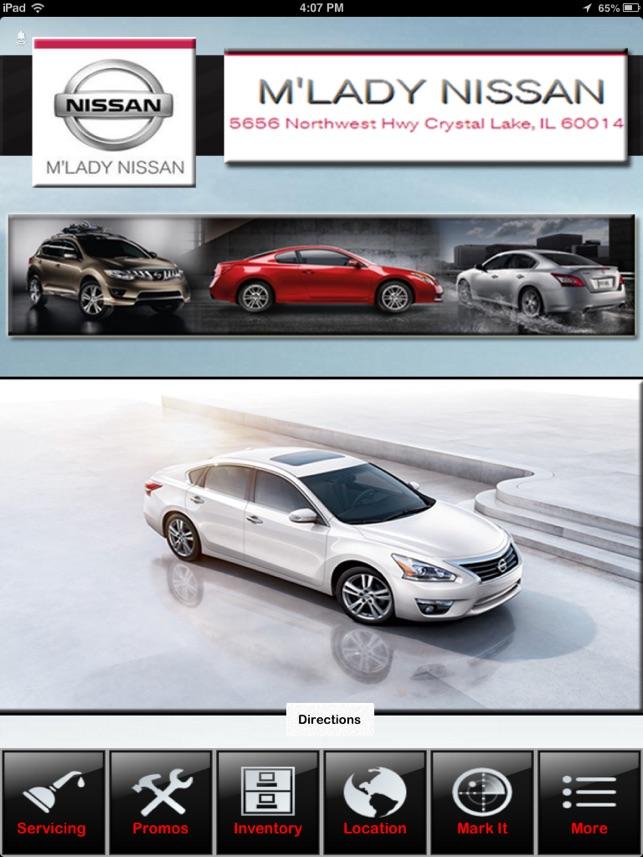 Attractive  Mu0027Lady Nissan Of Crystal Lake Na App Store