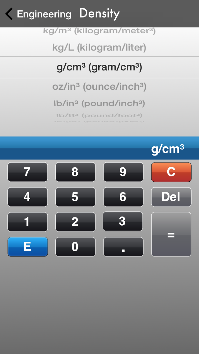 Unit Converter All-In-One Free for Engineering, Electric and Common Unit Conversions screenshot four