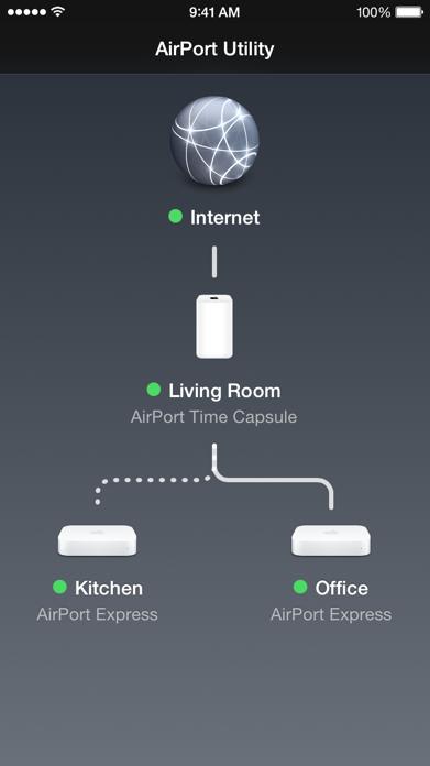 AirPort Utility Screenshot