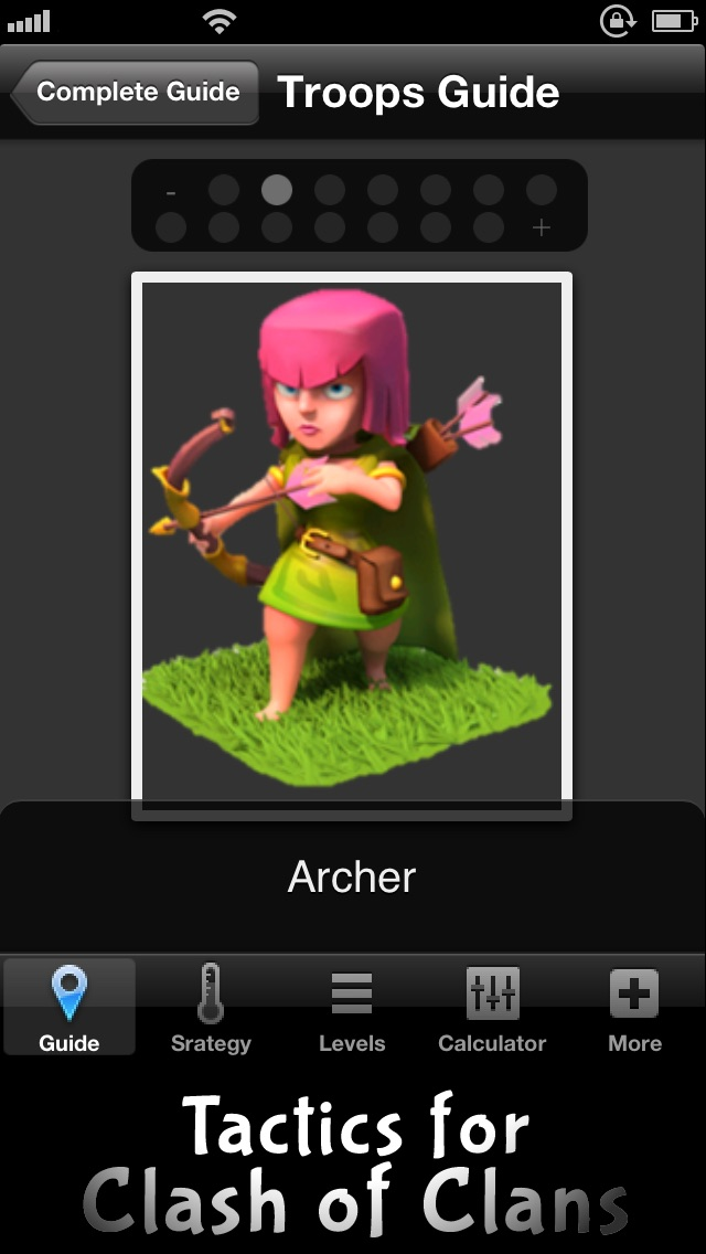 Tactics Guide for Clash Of Clans - include Gems Guide, Tips Video, and 2 Strategy Screenshot