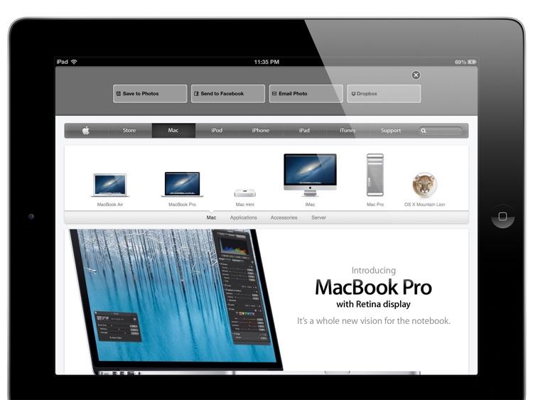Full Screen Capture - MobWeb.Goody for iPad screenshot-3