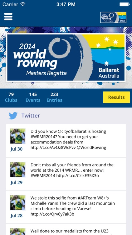 2014 World Rowing Masters Regatta screenshot-1
