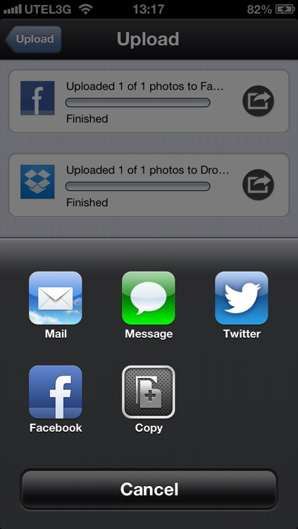 Ultimate Photo Uploader for social networks screenshot-4