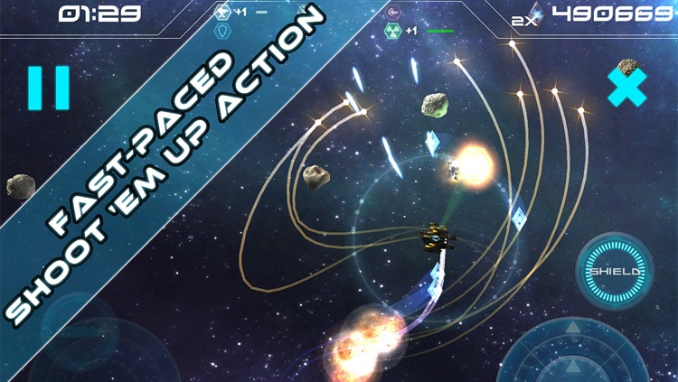 Augmented Reality Asteroids - Unique Arcade Shmup