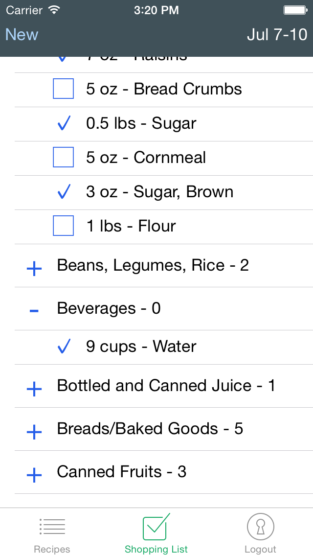 What To Eat DailyScreenshot of 3