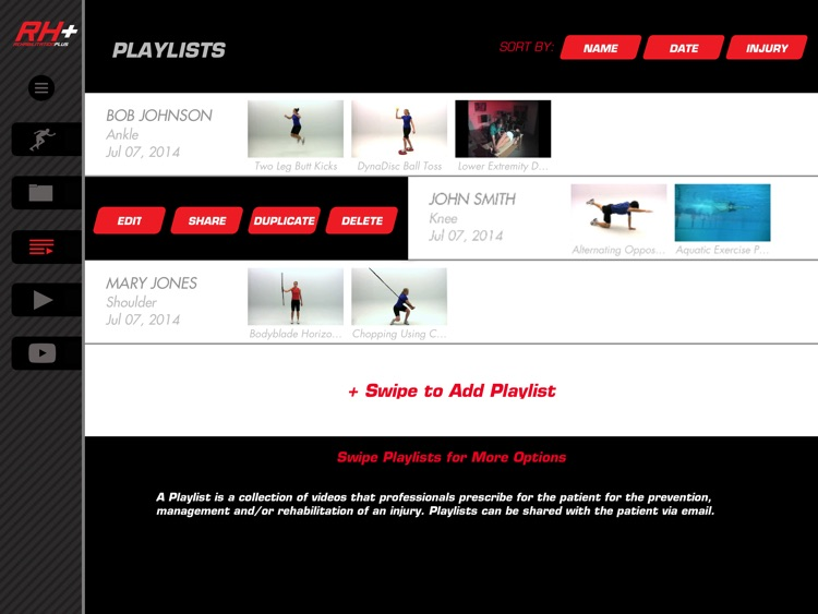 Rehabilitation Plus: Video-Led Exercises for Sports Injury Rehab screenshot-1