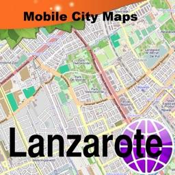 Lanzarote Fuertaventura Street Map