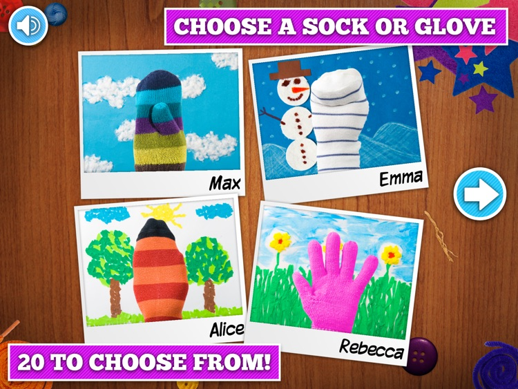 Puppet Workshop - Creativity App for Kids screenshot-1