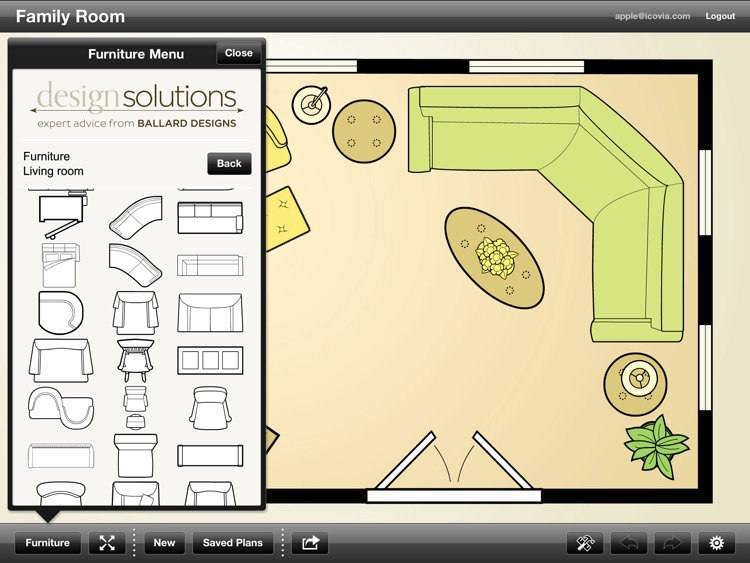 Ballard Designs Room Planner screenshot-2