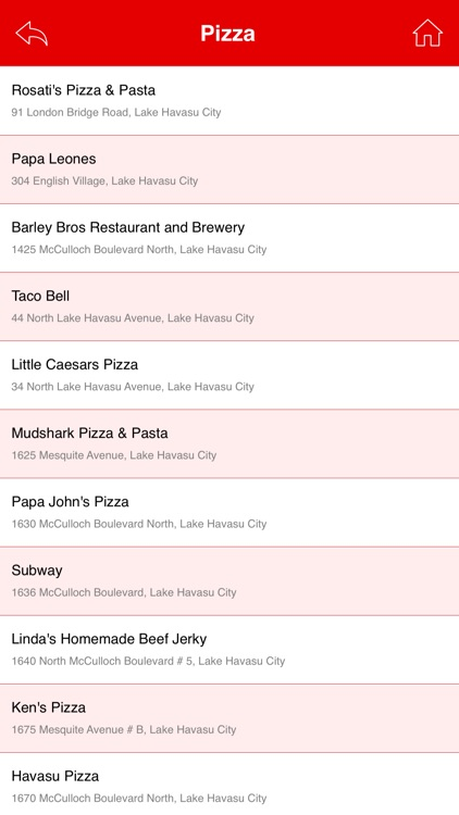 Great App for Rosati's Pizza screenshot-4
