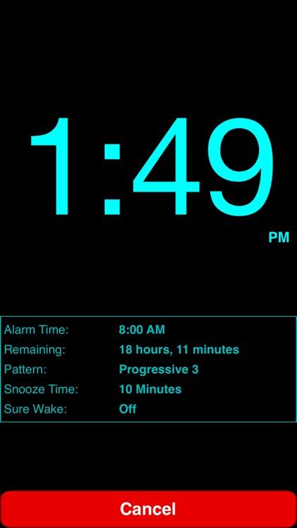 Progressive Alarm Clock