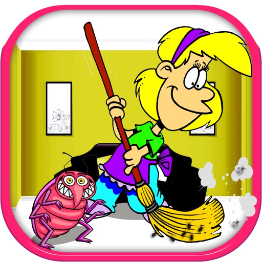 Help Mom To Clean The House Full