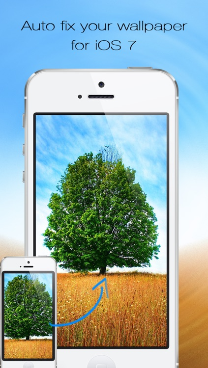 Wallpaper Fix & Fit Free- Scale, zoom, and position your background photos for iOS 7 home screen