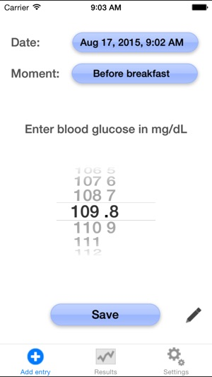 blood glucose tracker on the app store