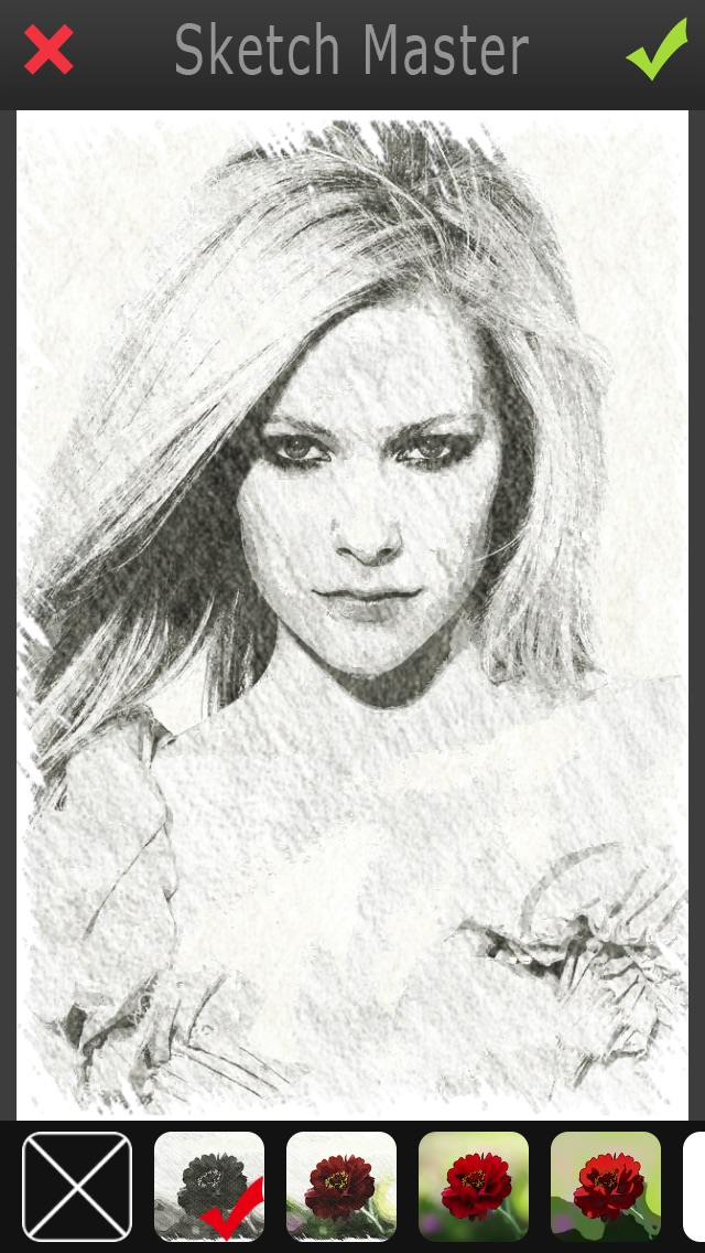 Sketch Master Pro - My Cartoon Photo Effects Filter & Pic Editor Booth app image