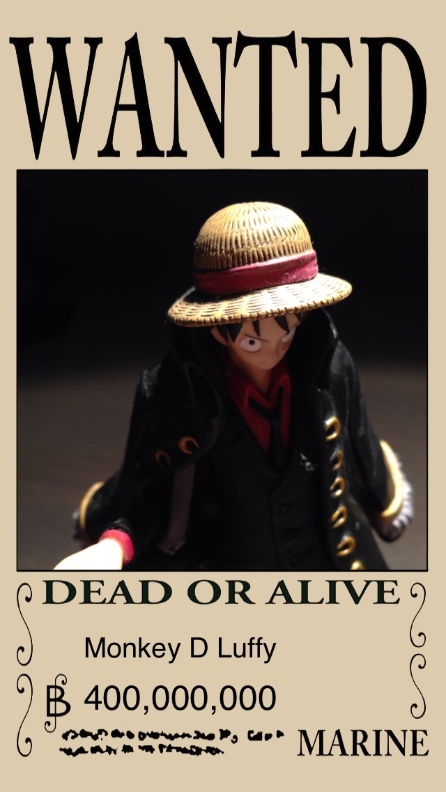 OP Poster Maker - An One Piece style pirate wanted poster