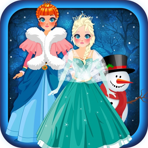Magic Snow Queen Ice Princess Fashion Castle Game - Free Girls Edition iOS App