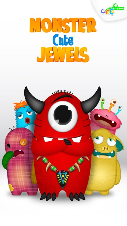 Design and Play - Monster Cute Jewels For You screenshot-0