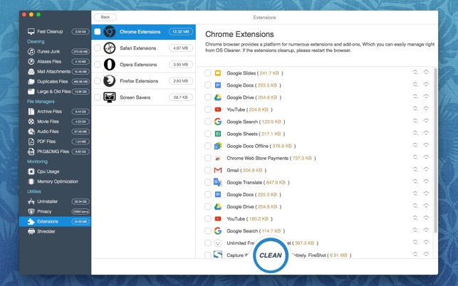 OS Cleaner on the Mac App Store