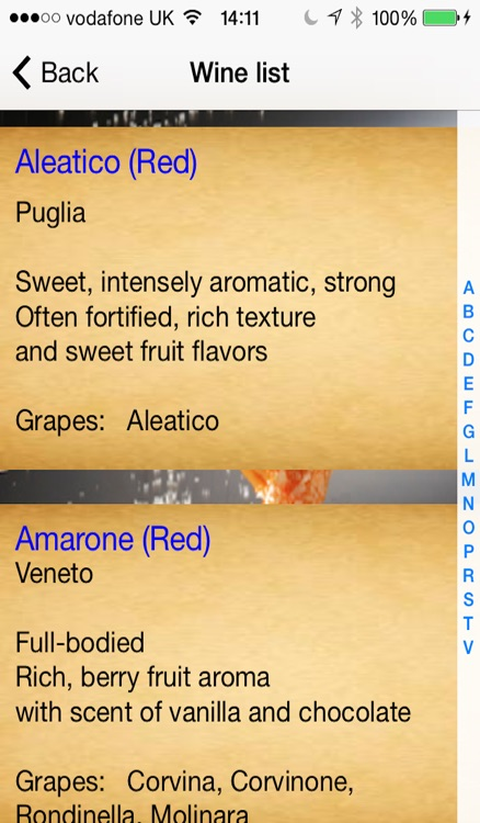 Italian Menu screenshot-4