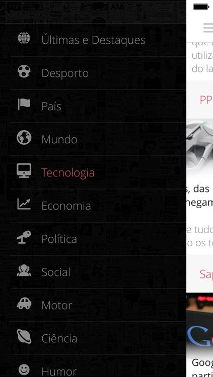 Notícias de Portugal PRO - Tudo o que de importante acontece em Portugal e no Mundo screenshot-4