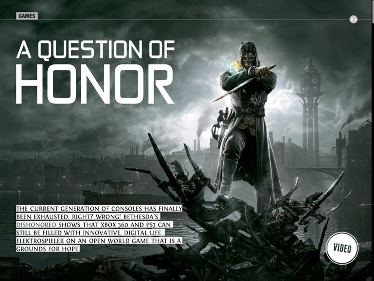"elektrospieler ""Dishonored: The Mask of Wrath"" Edition"