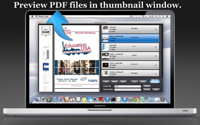 PDF Merge Super Screenshot