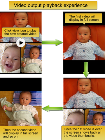 Screenshot #5 pour Video Album - Frame Video, Join Video, Crop Video, Rotate Video