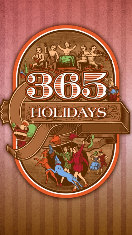 365 holidays. Full version.