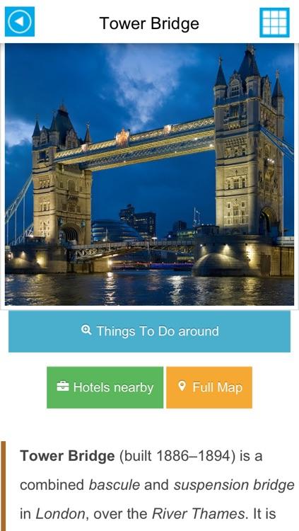London offline map, guide, hotels. screenshot-4