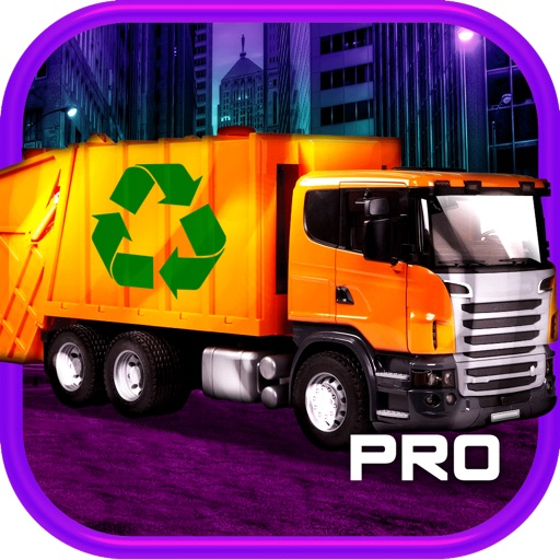3D Garbage Truck Racing Game With Real City Racer Games And Police Cars PRO