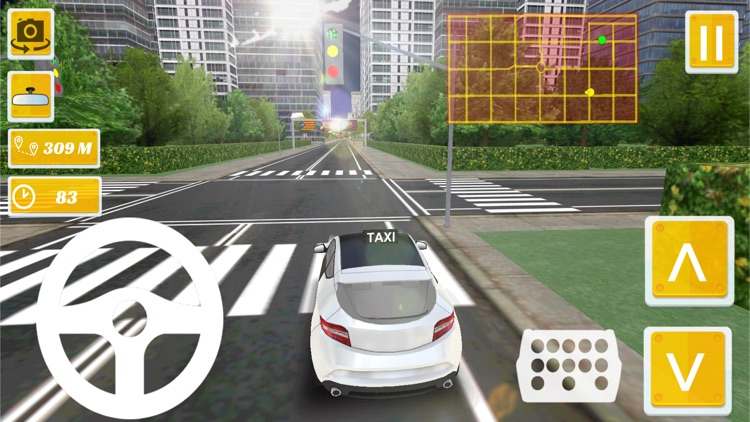 Taxi Driver - Spain Barcelona City 3D screenshot-3
