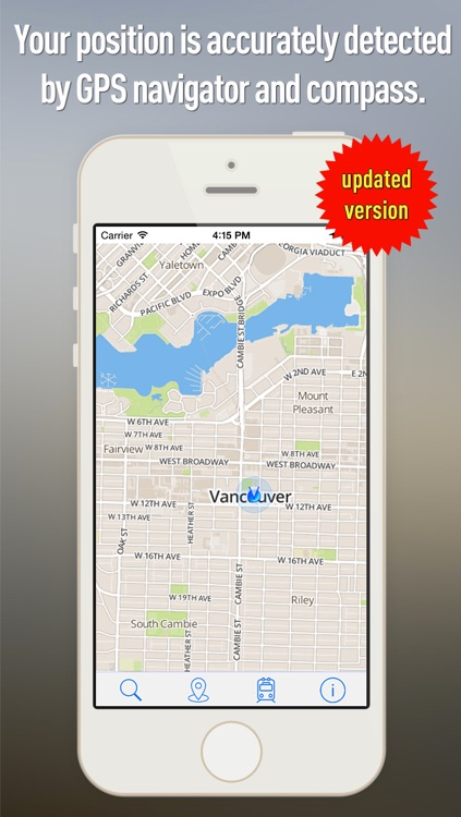 Offline Map Vancouver - Guide, Attractions and Transports