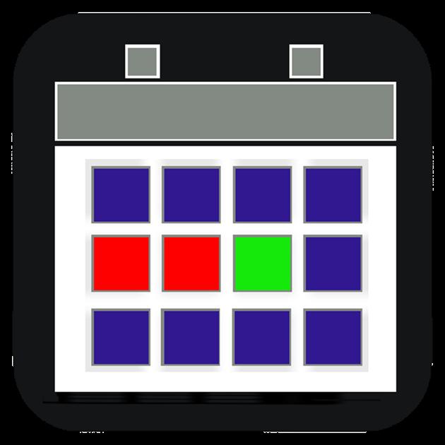 dienstplan kalender im mac app store. Black Bedroom Furniture Sets. Home Design Ideas
