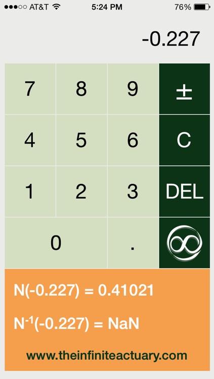 Normal Distribution Calculator screenshot-3