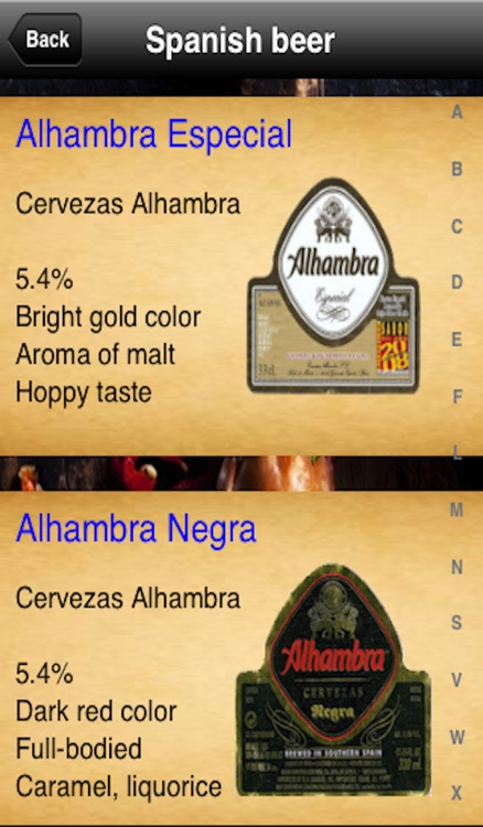 Tapas Menu screenshot-3
